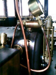��(i150)(*^^*)ノ小川精機のブースにて 『ボールドウィン B-1(0-4-2) 3・5インチゲージミニSL』