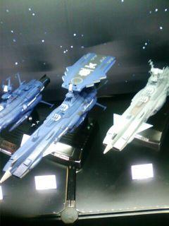 ��(i150)(*^^*)ゞ まいどー まだまだ静岡ホビーショーの画像あります。 バンダイブースの『宇宙戦艦ヤマト』コーナーです。