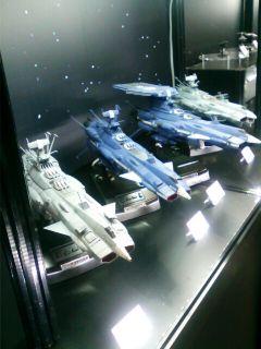 ��(i150)まいど(*^^*)ノ 静岡ホビーショー'18つづき 宇宙戦艦ヤマトシリーズのメカ (アンドロメダ級が揃っていた)