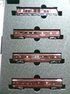 ��(i150)(*^^*)ゞ コレが(i158) 「ななつ星in九州」(i150)(i160) KATOのNゲージ鉄道模型です(i150)(i1015)(i160)
